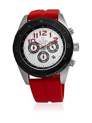 Victory Reloj V-Compete Rojo / Plateado