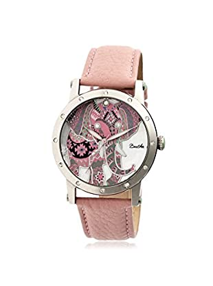 Bertha Women's BTHBR5702 Betsy Light Pink/Multicolor Leather Watch