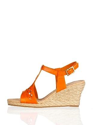 Rockport Sandalias Cuña Emily (Naranja)