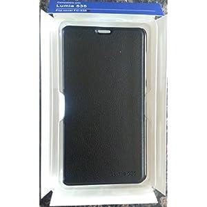 ORIGINAL NOKIA Flip Cover For LUMIA 535 - Black
