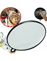 Hand Makeup Mirror Beauty Hair Salon Hairdressing Cosmetology Black