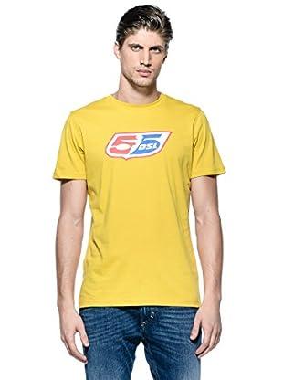 55Dsl Camiseta Logoclassic (Mostaza)
