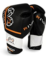 Rival High Performance Hook-and-Loop Sparring Gloves Black/12 oz AD