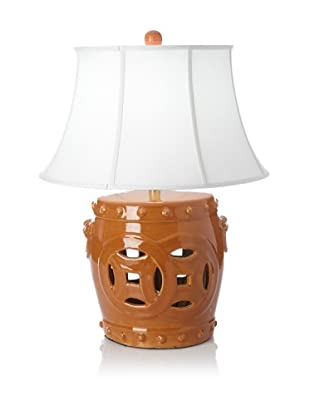 Emissary Double Fortune Table Lamp