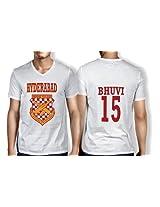 Anger Beast Bhuvi Hyderabad White Sweat Free T shirt H BHU 00