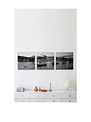 Portugal Panoramic Giclée Canvas Print Triptych