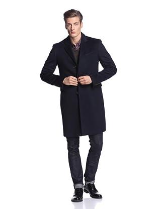 Burberry Men's Long Coat (Navy)