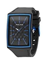 Police Analog Black Dial Men's Watch - PL-13077MPGYBL/02