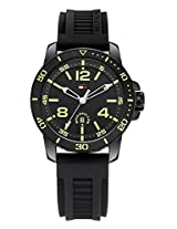 Tommy Hilfiger Analog Black Dial Men's Watch - TH1790847/D
