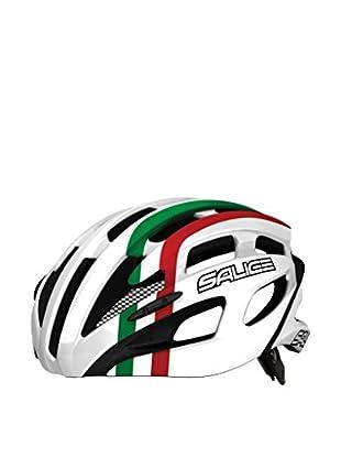Salice Casco de Ciclismo Spin Blanco / Multicolor