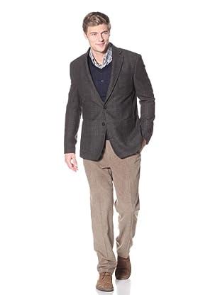 Billy Reid Men's Rustin Two Button Sport Coat (Grey Brown)
