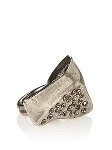Paige Novick Roxanne Ring (Rhodium Silver)