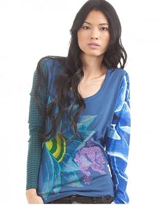 Desigual Longsleeve Jelena (Azul)
