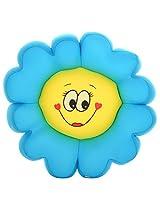 Twisha Lycra Sunflower Blue 12 X 12 X 3 Inch