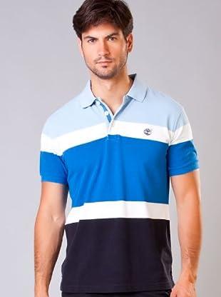 Timberland Polo Asortd (Blanco / Azul)