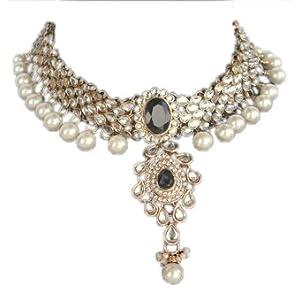 Monalisa Exports Pearl Pendant Women Black