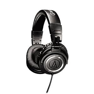 Audio Technica ATH-M50 Over-Ear Headphone (Black)