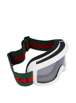 Gucci Unisex-Skibrille GG 5004/C7GI weiß