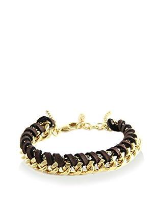 Ettika Brown & 18K Gold-Plated Royal Voyage Bracelet