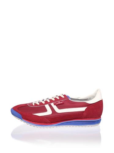 John Lennon Men's Revolution Sneaker (Red)