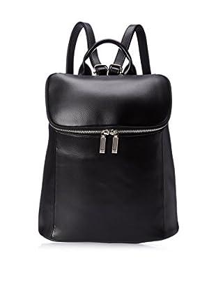 Zenith Women's Bucket Backpack, Black