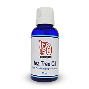 Nirogam Tea Tree Oil for Skin Allergies, Eczema & Infections - 30 ml