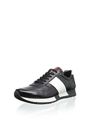 Prada Linea Rossa Men's Casual Sneaker (Black)