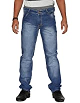 U.S. Rugby Faded Fashion Slim Fit Men's Jeans 502 (30)