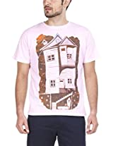 Zovi Cotton House Light Pink Graphic T-shirt 113403038010M
