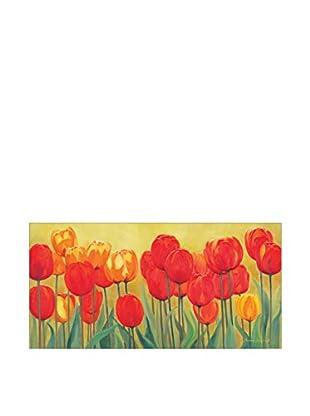 Artopweb Wandbild Bernhardt Fruhlingsgarten 100X50 cm mehrfarbig