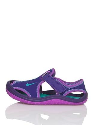 Nike Chanclas Sunray Protect (Td) (Morado)
