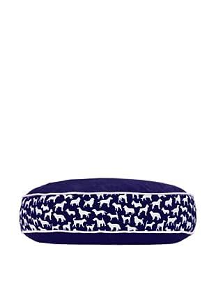 Harry Barker Kennel Club Round Bed (Blue)