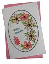 Mishti Creations Handmade Happy Birthday Greeting Card