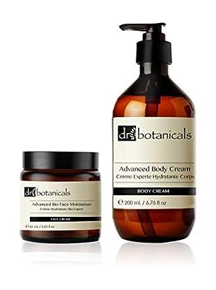 Dr Botanicals Set, 2-teilig Gesichtscreme 60 ml und Körpercreme 200 ml