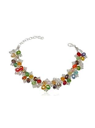 Fashion Victim Pulsera con Cristales multicolor