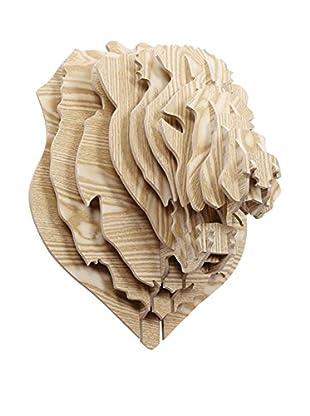 LO+DEMODA Decoración Pared Lion  Puzzle 3D