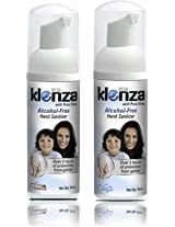 Klenza Smooth Strawberry Alchohol Free Hand Sanitizer Foam - Pack of 2