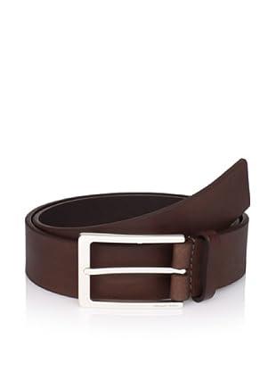 Michael Kors Men's Leather Belt (Chocolate)