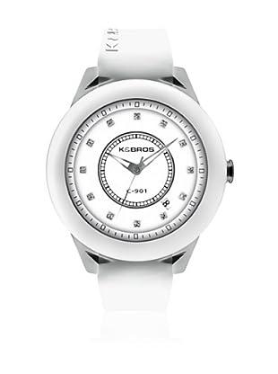 K&Bros  Reloj 9165 (Blanco)