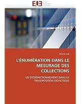 L''Enumeration Dans Le Mesurage Des Collections (Omn.Univ.Europ.)