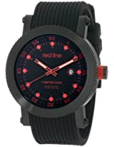 red line Men's 18001-01RD-BB Compressor Collection Watch