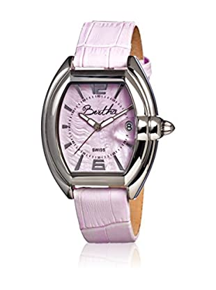 Bertha Uhr mit Schweizer Quarzuhrwerk Chloe rosa 42 mm