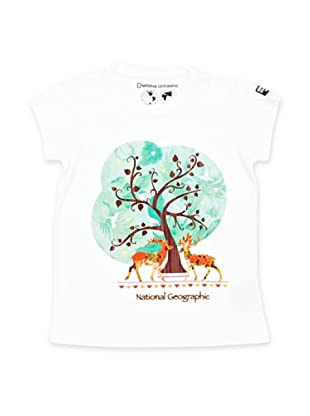 National Geographic T-Shirt Tree (Bianco)
