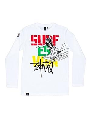 El Niño Camiseta Manga Larga Vida (blanco)