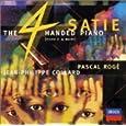 サティ:4手のためのP作品集 ロジェ(パスカル) (演奏者)、ジュイエ(シャンタル)、コラール(ジャン=フィリップ)、ロジェ(パスカル)他 (CD2000)