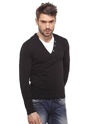 Santa Barbara Camiseta SBO 2 in 1 (Negro)