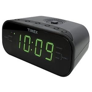 Timex T231G AM/FM Dual Alarm Clock Radio