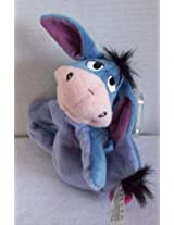 Disney Eeyore Plush Bean Bag By Star Bean With Removable Tail - 8 Inches