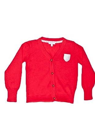 Naf Naf Chevignon Chaqueta Parche (Rojo)