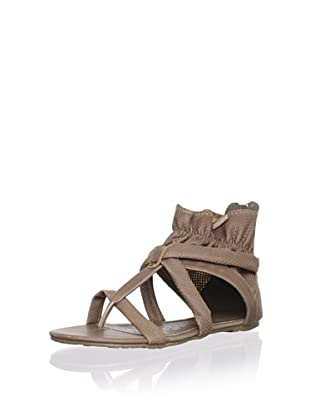 XTI Kid's Perforated Sandal (Taupe)